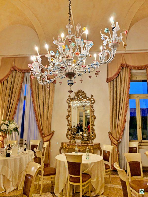 sala da pranzo castello bevilacqua