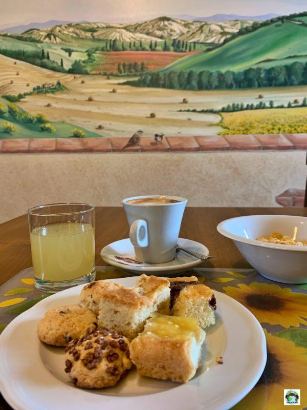 colazione agriturismo San Lorenzo