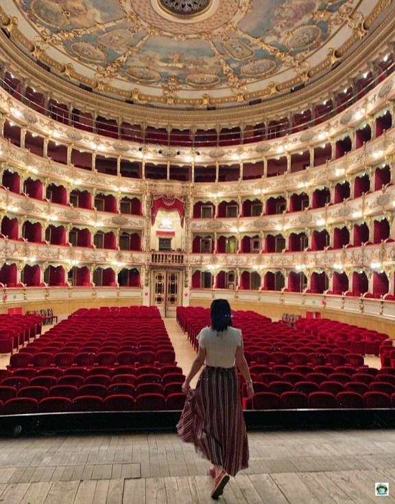 Teatro Grande di Brescia palco