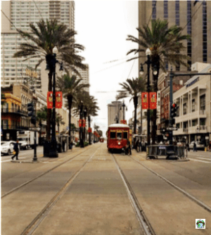 Tram New Orleans