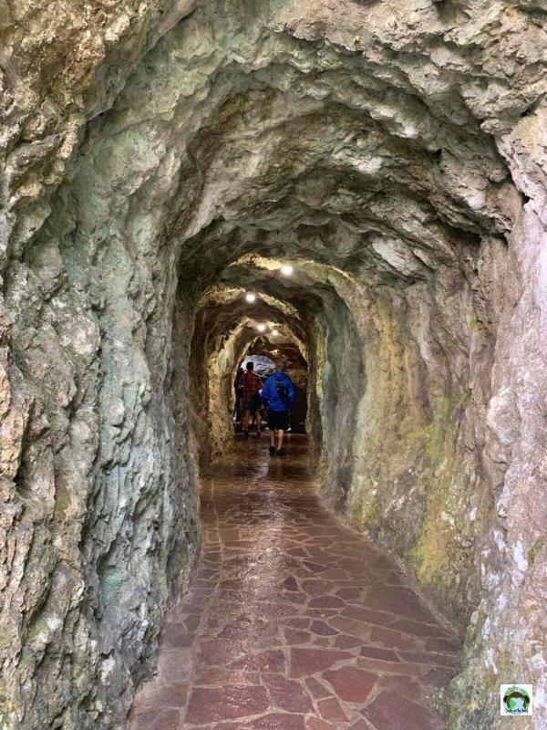 tunnel cascata varone