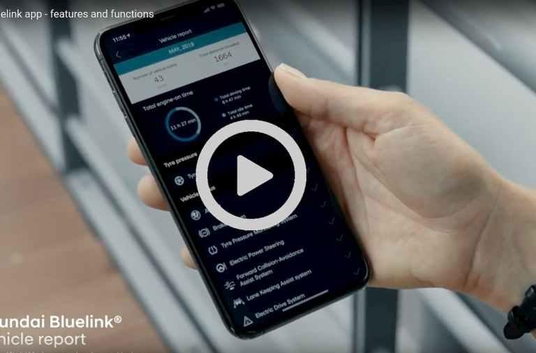 Llega Bluelink de Hyundai
