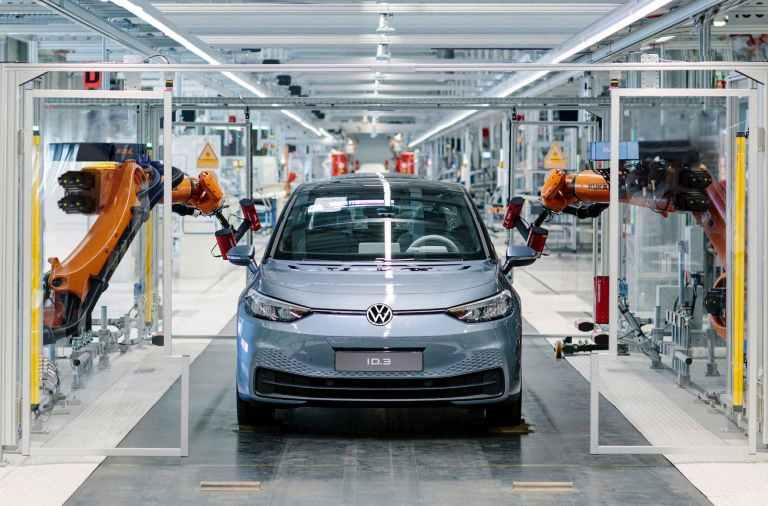 Planta de producción del Volkswagen ID.3