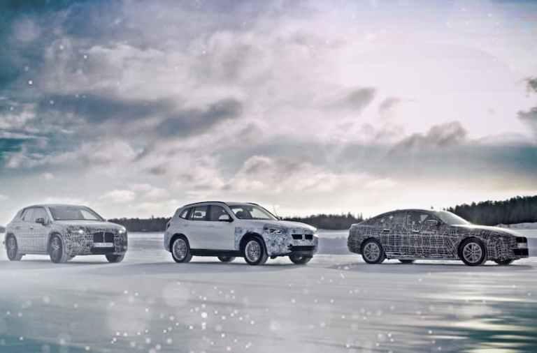 Llantas aerodinámicas para el BMW IX3 eléctrico