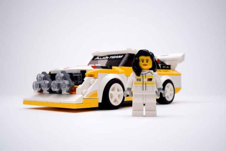 Audi y Lego homenajean a Michèle Mouton