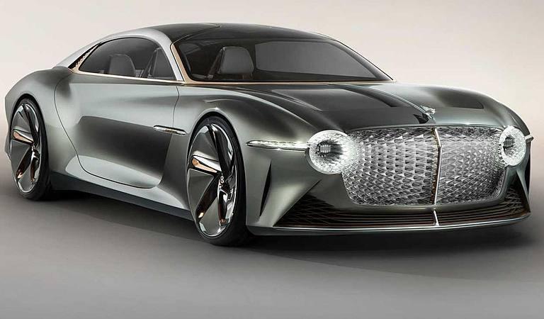 Llegará en 2025 el primer Bentley eléctrico