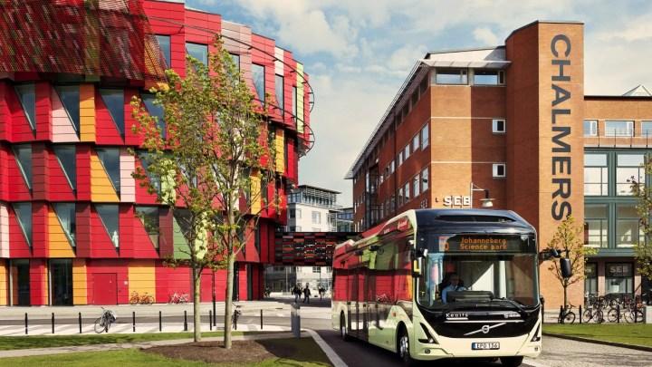 Autobus eléctrico Volvo en Suecia