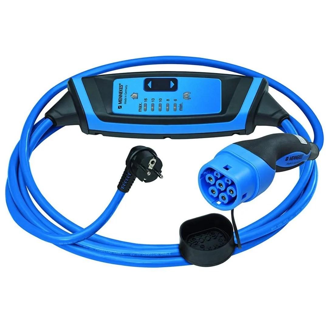 Cable de recarga de coche eléctrico