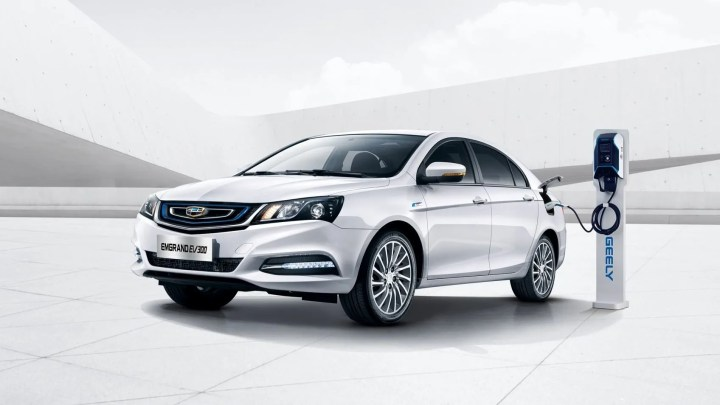 Geely coche eléctrico