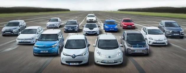 Marcas que fabrican coches eléctricos
