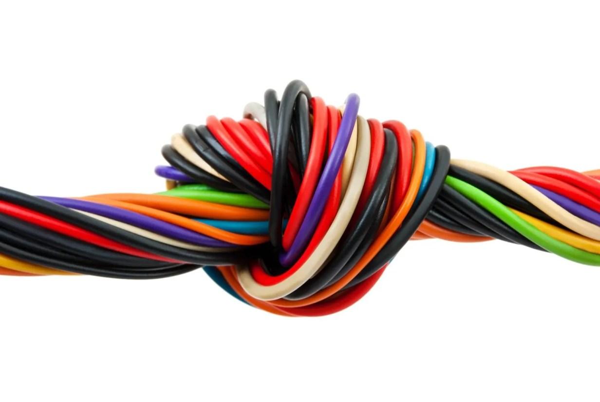 cableado de coches eléctricos