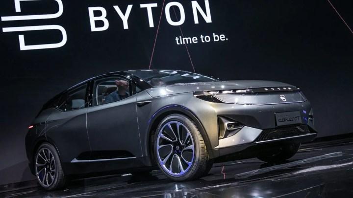 BYTON, coches eléctricos premium chinos creada por ex-ejecutivos de BMW