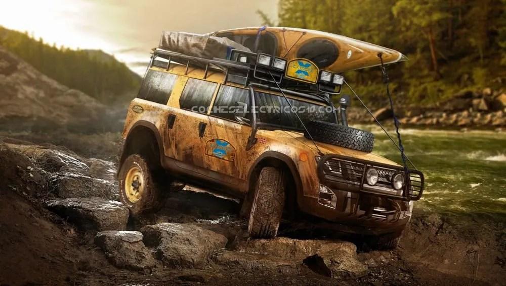 Extreme E Land Rover