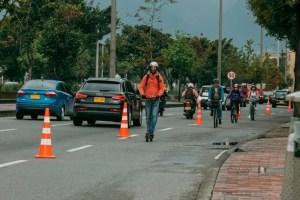 Ciclistas britanicos durante el covid19