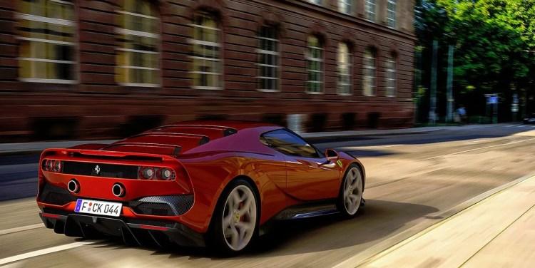 SP38 Ferrari