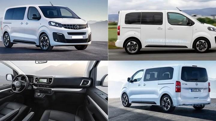 Opel Zafira Life: 100% eléctrico