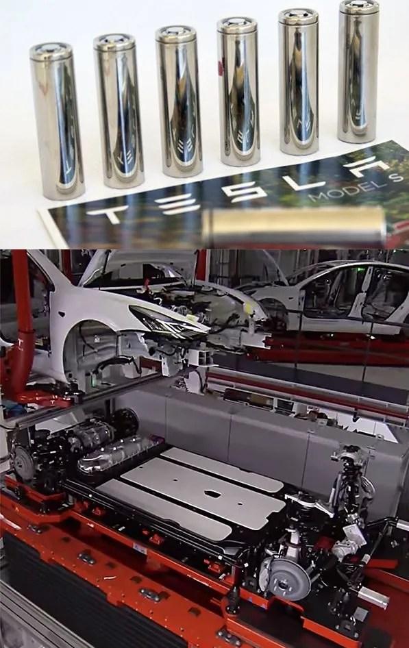 baterias de tesla model 3