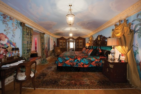 Stunning new images of the Gianni Versace mansion as the property is put up for auction. The famously extravagant South Beach mansion which once belonged to the late fashion designer, Gianni Versace, is going up for sale in a private auction on September 17. The auction will be held at the spectacular 10-bedroom, 11-bath estate at 1116 Ocean Drive, Miami Beach. The debt holder, VM South Beach LLC, has put in a stalking-horse bid of $25 million itself, setting a minimum for other bidders. The sale will include the property fully furnished. The current owner, Peter Loftin, put Casa Casuarina LLC, the company that owns the property, in Chapter 11 bankruptcy proceedings on July 1 in a bid to stave off creditors' efforts to appoint a receiver. Pictured: New image of Versace mansion Ref: SPL611354 160913 Picture by: Splash News / TheJills Splash News and Pictures Los Angeles: 310-821-2666 New York: 212-619-2666 London: 870-934-2666 photodesk@splashnews.com
