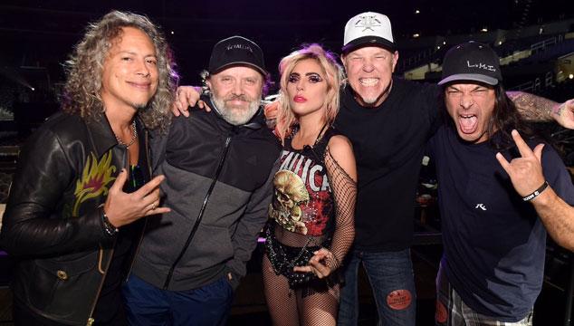 imagen Lady Gaga y Metallica tuvieron problemas técnicos en los Grammys (VIDEO)