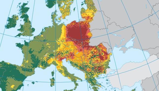 Smog w Europie