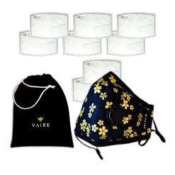 maska antysmogowa heaven blossom z 6 filtrami