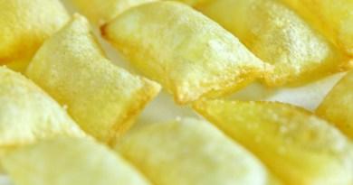 Patatas fritas soufflé