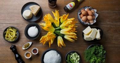 'Flor de calabacín rellena en tempura de Amstel Radler', por Ricard Camanera