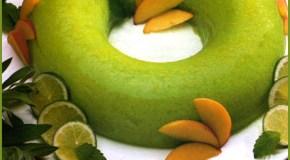 Bavaroise de kiwi