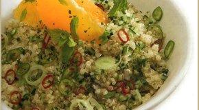Ensalada de quinoa y naranjas