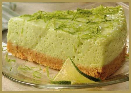 tarta fresca de limón