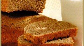 Pan negro de molde