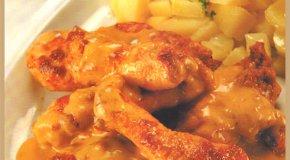 Pollo al estilo húngaro
