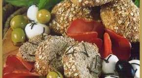 Pan a las cuatro harinas