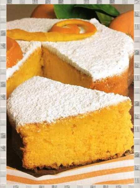 torta de naranja exquisita