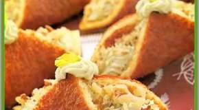 Pañuelitos de queso azul