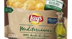 Lay's Mediterráneas, las patatas con aceite 100% oliva