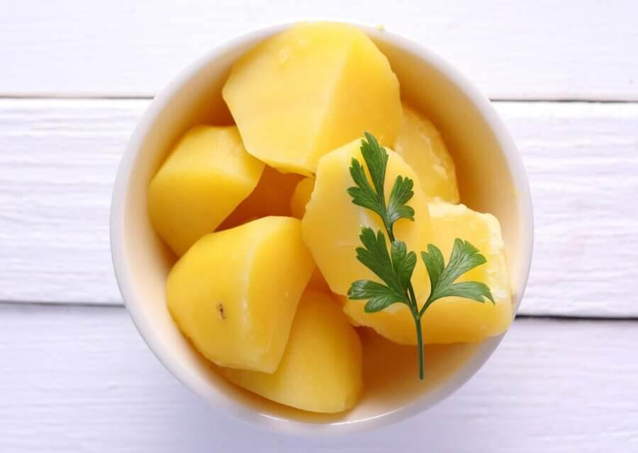 patata cocida para dieta