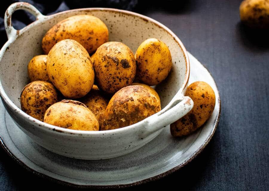 las patatas cocidas engordan para cenar