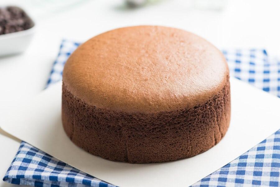 pastel de queso japones de chocolate receta