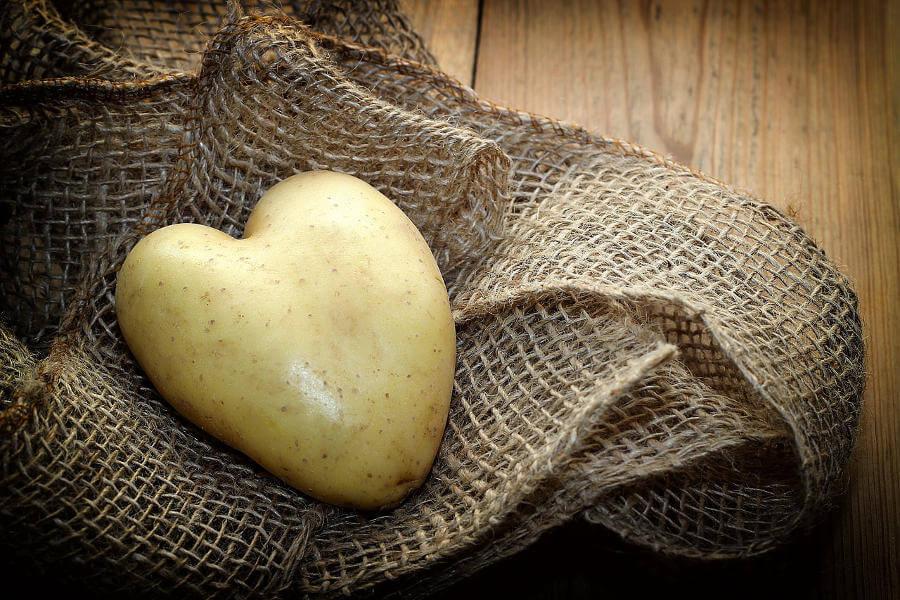 Comer patatas favorece la salud del corazón