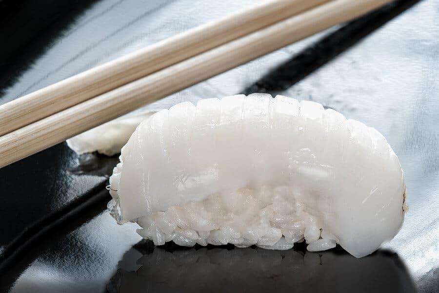 Sushi de lubina