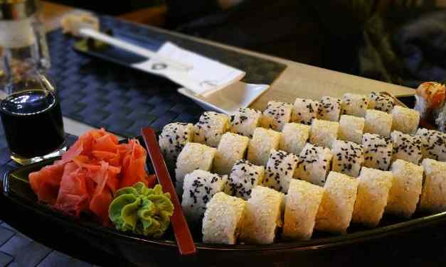Los mejores aliados del sushi: jengibre, wasabi y salsa de soja