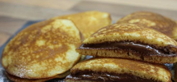 Dorayakis de Nutella