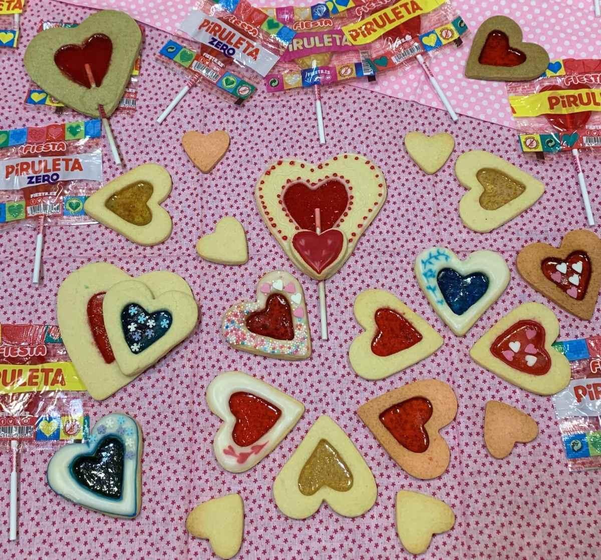 galletas de cristal - Cocina con Gemma