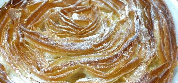 Ruffled Milk Cake – Tarta Griega
