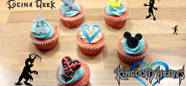Kingdom Hearts Red Velvet Cupcakes