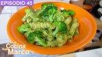 Pasta con brocoli - Receta autentica italiana