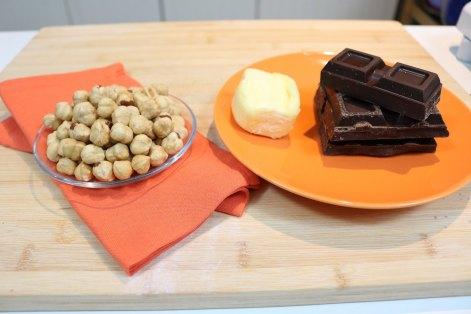 ingredientes decoracion Tarta Ferrero Rocher