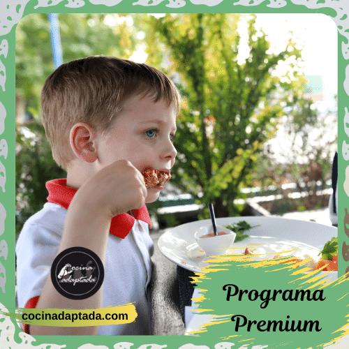 Desórdenes alimentación autismo Premium