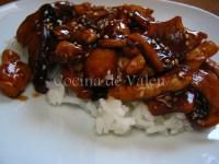 Pollo Teriyaki - Cocina de Valen